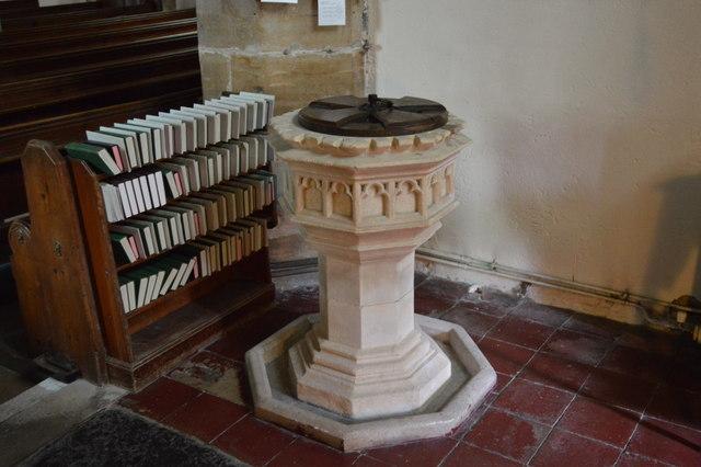Font, Church of St Thomas a Becket