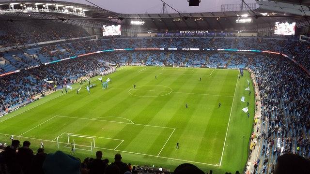 Matchday at the Etihad Stadium!