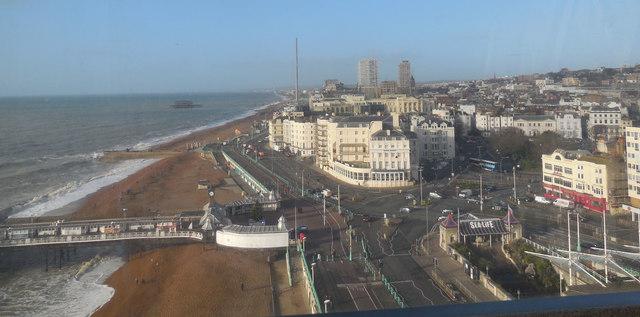 Looking West from Brighton Wheel