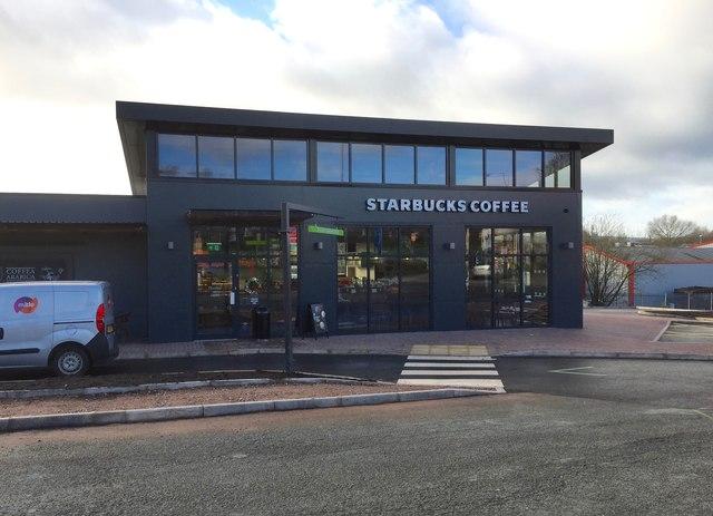 Newcastle-under-Lyme: Starbucks on corner of Talke Road and London Road