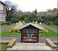 SJ9295 : Remembrance Garden crib by Gerald England