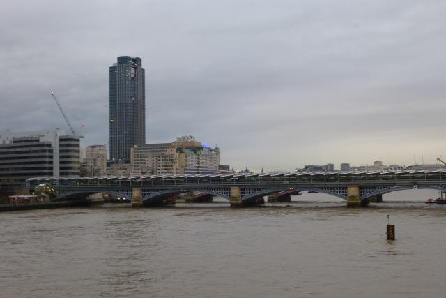 Blackfriars Bridge from Millennium Bridge
