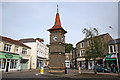 ST4071 : Clock Tower The Triangle Clevedon by Jo Turner
