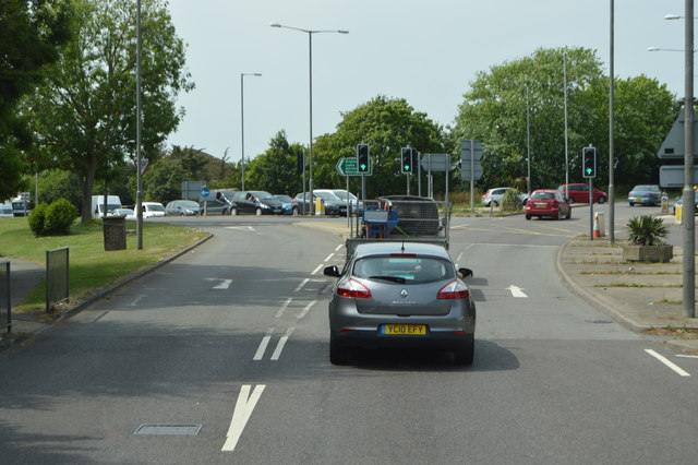 A2270 / A27 junction