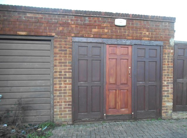 Unusual Garage Doors On Kenton Park Road