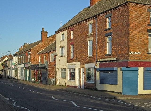 Stanton Hill - NE side of High Street