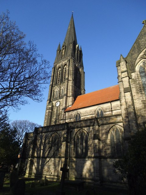 St Michael's Church, Headingley - spire