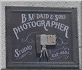 C1611 : B. McDaid & Sons Photographer Studio by Ian S