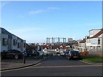 TQ3303 : Cliff Road, Black Rock, Brighton by Simon Carey