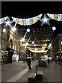 NZ2464 : Christmas Decorations, Grey Street, Newcastle upon Tyne by Graham Robson
