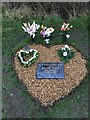 SJ7948 : Bateswood Country Park: memorial to Joanne Dawn Tilstone by Jonathan Hutchins