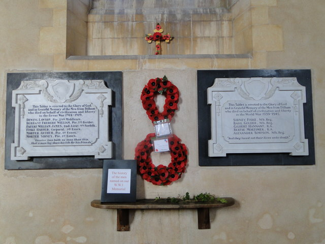 Dilham World War One and Two Memorials