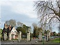 TQ3373 : The Old College Gate, Dulwich Park by Robin Drayton