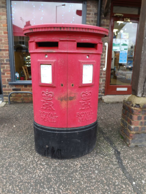 Southdown Road Post Office Postbox