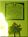 TG3610 : North Burlingham WW2 Memorial by Adrian S Pye