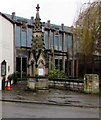 ST8599 : Victorian fountain in Nailsworth town centre by Jaggery