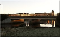 J3731 : The Shimna Road bridge over the Shimna River at dawn by Eric Jones
