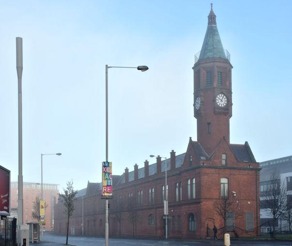 Mist at the Gasworks, Belfast - December 2015(1)