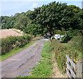 SK6048 : George Lane Vicinity, Calverton, Notts. by David Hallam-Jones
