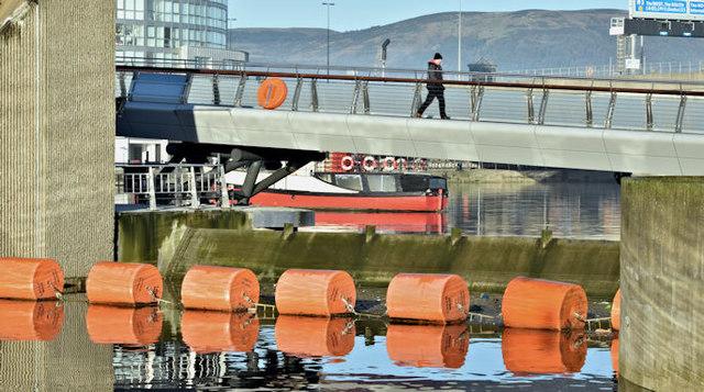 The Lagan Weir, Belfast (December 2015)