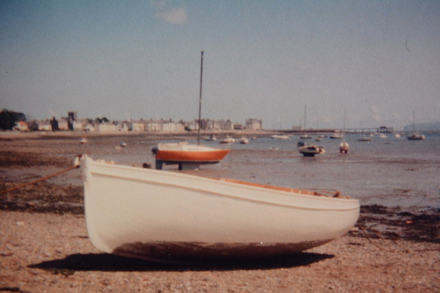 Beaumaris from Gallows Point, c.1981