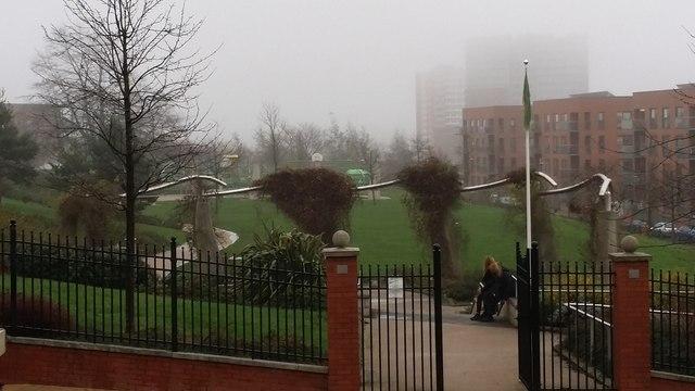 City centre parkland