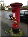 TL1313 : Queens Road George V Postbox by Adrian Cable