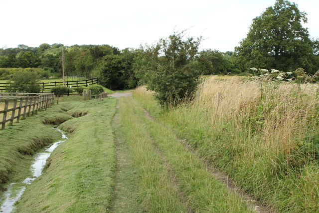Little Caker Bridge at the end of Water Lane