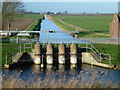 TL5191 : Straight Drain joins The Old Bedford River by Richard Humphrey