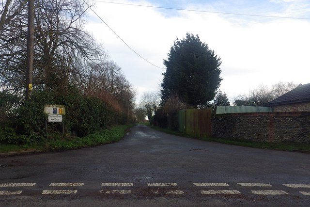 Vicarage Farm Road, Conyer's Green