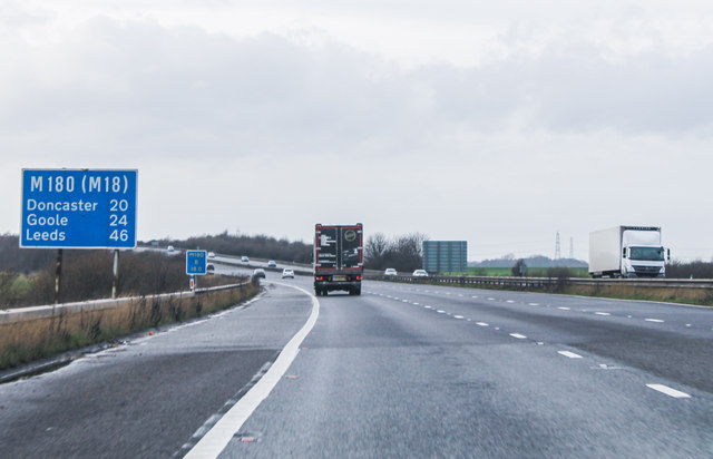 M180, 20 Miles to Doncaster