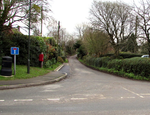 Junction of Culver Street and Southend Lane, Newent
