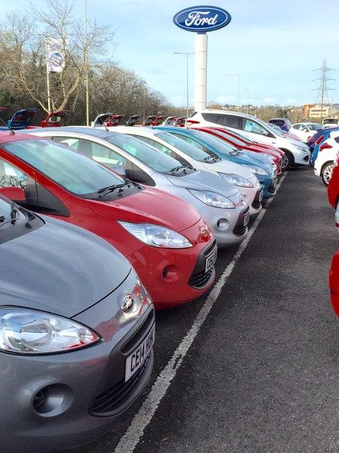 New car sales - Bridgend Ford