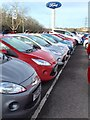 SS9277 : New car sales - Bridgend Ford by Alan Hughes