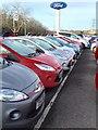 SS9277 : New car sales - Bridgend Ford by Alan Hughes