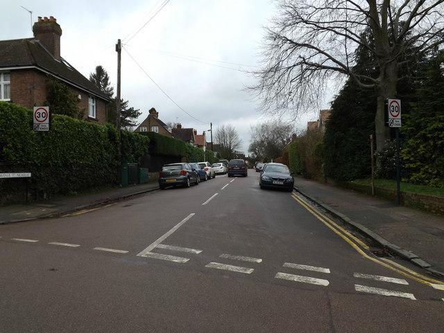 Avenue St.Nicholas, Harpenden