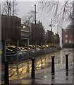 SE3155 : Hospital car park, Harrogate by Derek Harper