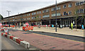 SP1479 : West on Station Road, Solihull, during street improvement works by Robin Stott