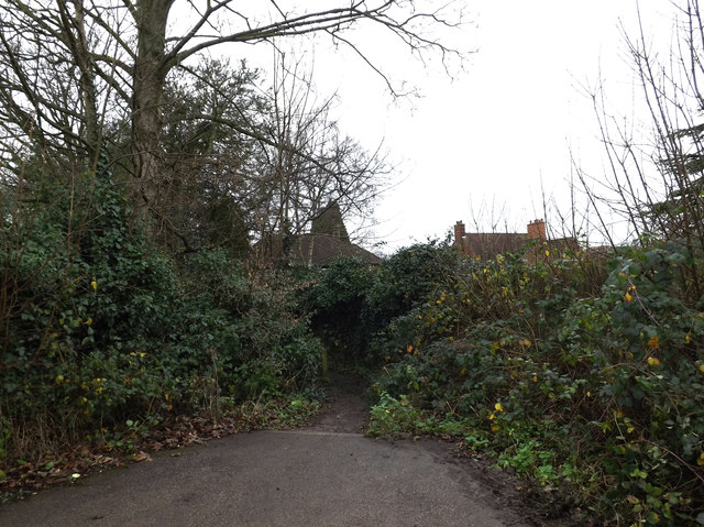 Path to Rothamsted Avenue