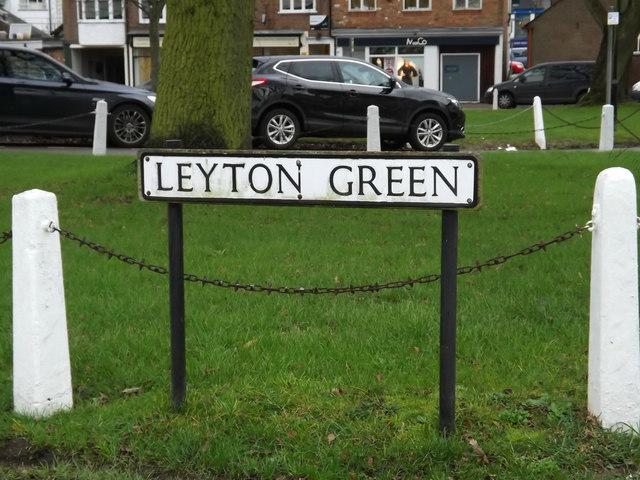 Leyton Green sign