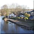 SE2535 : Wrecked garden, Kirkstall Bridge Inn by Rich Tea