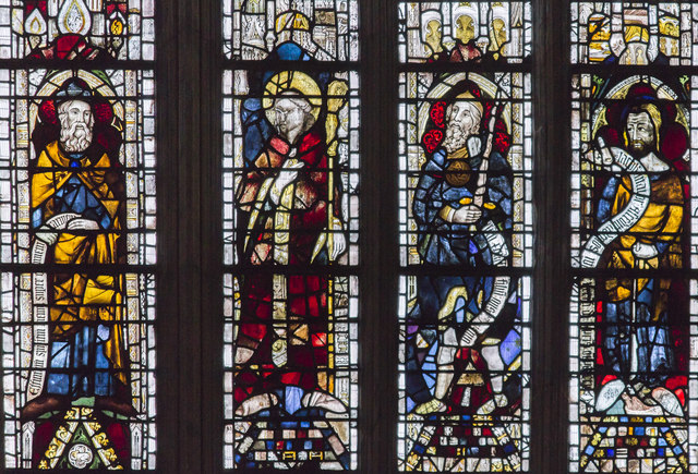 East window detail, Beverley Minster
