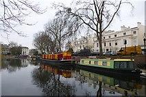TQ2681 : Little Venice near Warwick Avenue by DS Pugh