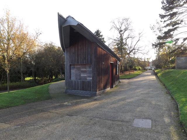 Park Building in Christchurch Park
