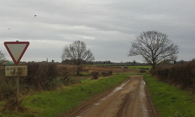 Muddy Crossroads near Timworth Green