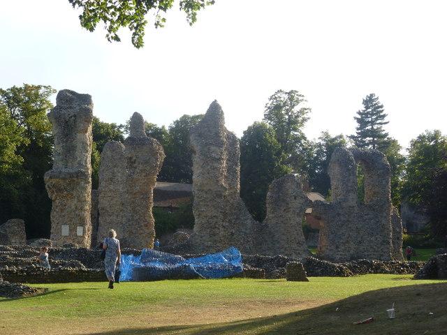Abbey ruins, Bury St. Edmunds