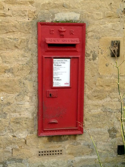 Postbox at The Old Post Office, Wansford, ref PE8 80