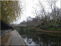TQ2783 : Bridge over the canal by DS Pugh
