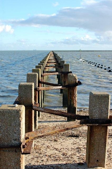 Cold War defence boom, Pig's Bay, Shoeburyness