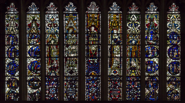 Lower part of East Window, Beverley Minster
